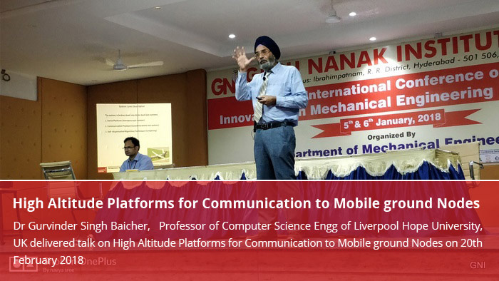 High Altitude Platforms for Communication to Mobile ground Nodes