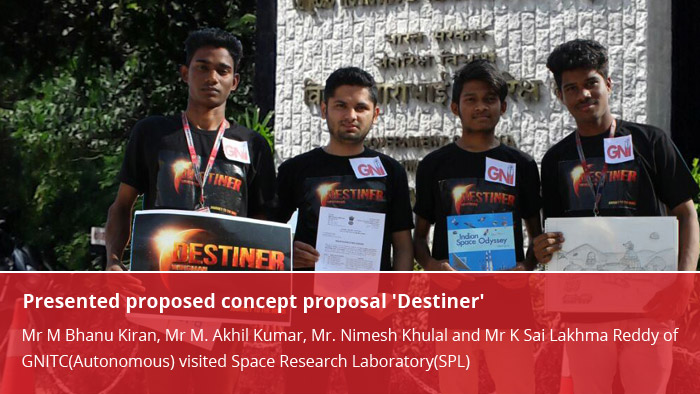 Presented proposed concept proposal 'Destiner'